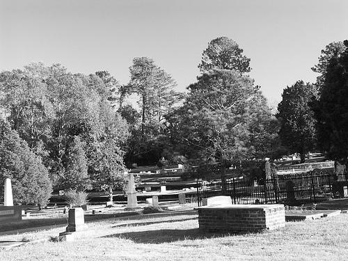 Pinehill Cemetery in Auburn.